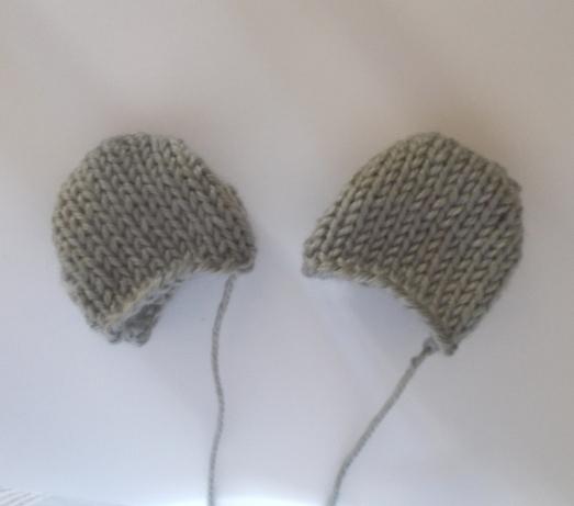 Knitting Pattern For A Teddy Bear Hat : Knit Teddy Bear Ears StitchGeek