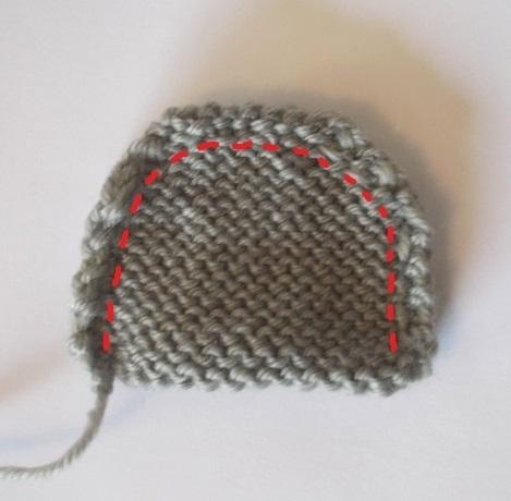 Knit Teddy Bear Ears Stitchgeek