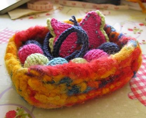 Felted Trinket Box