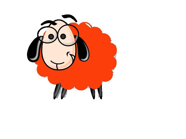 sheepish orange