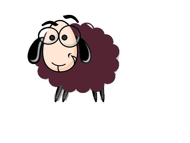 sheepish purple