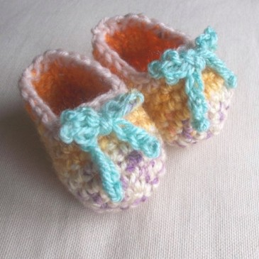 FO Alert! Little booties…such cuties!