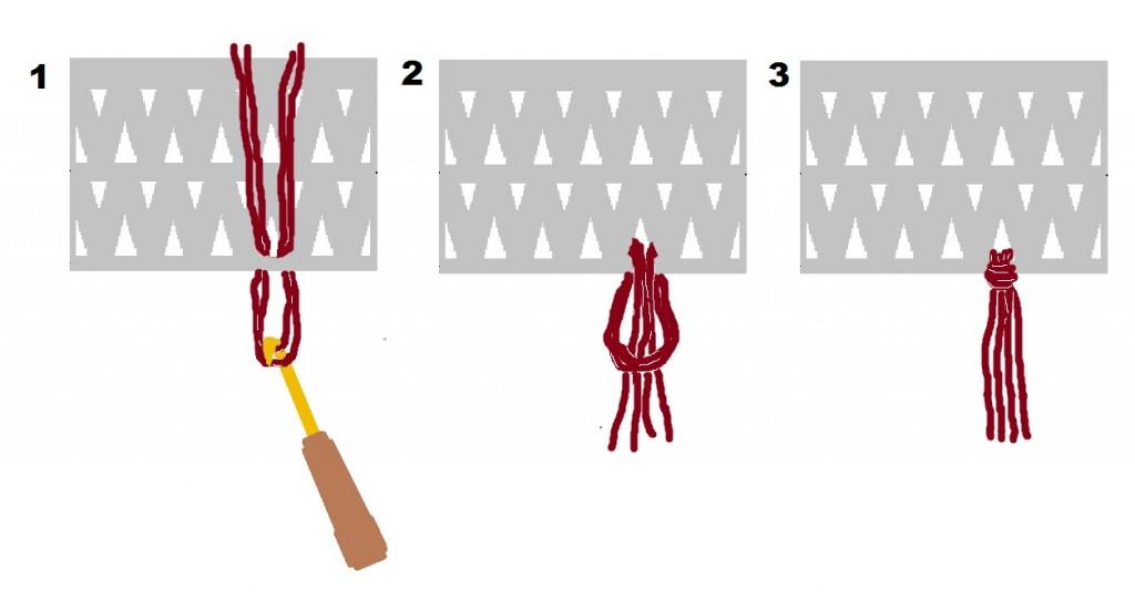 knotting a fringe