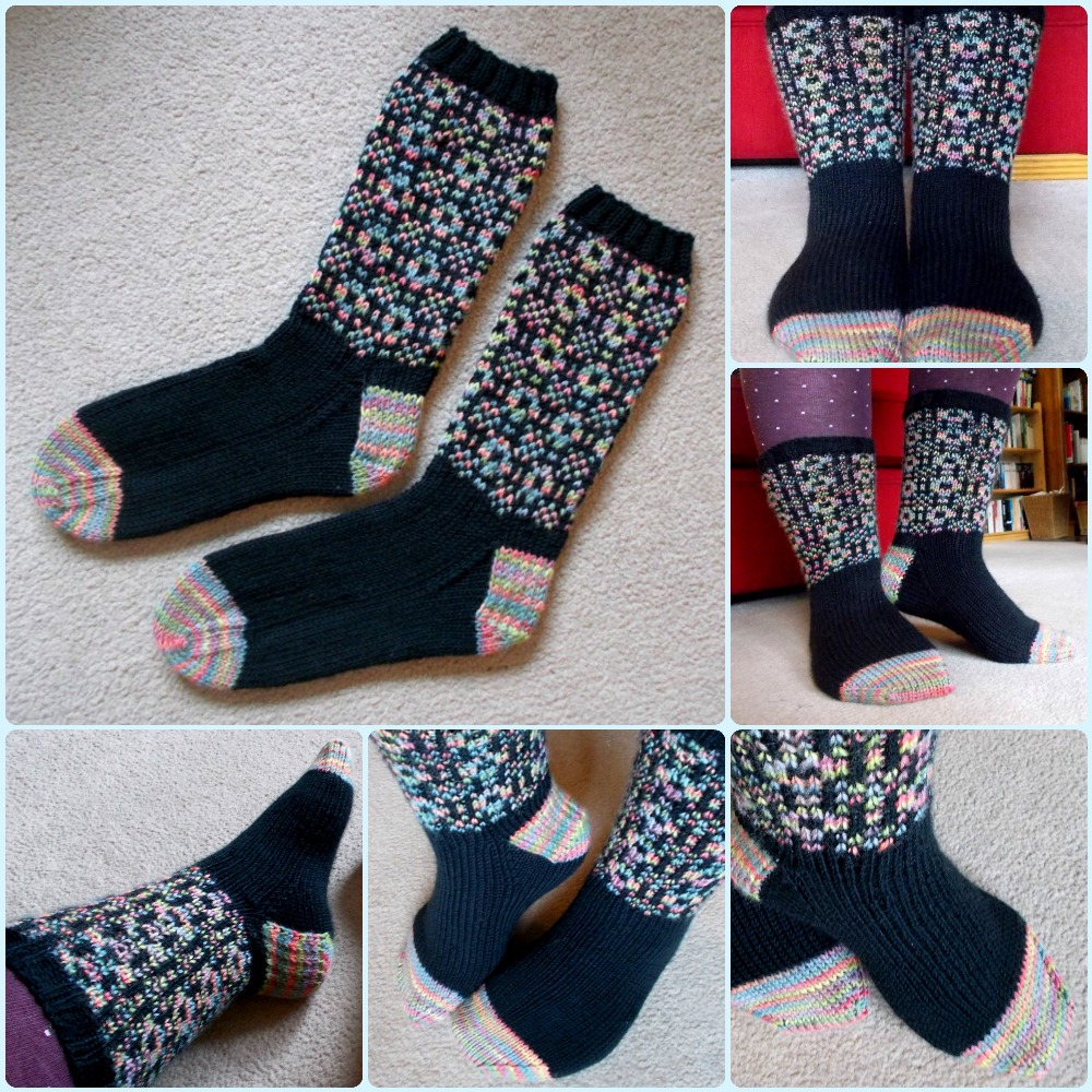 WT socks collage