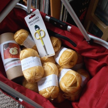 Look into the shopping basket…