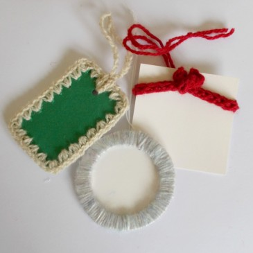 Yarny Gift Tags – Three Ways!