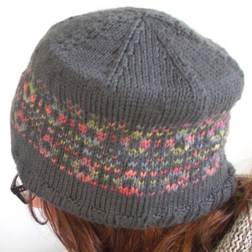 Welsh Tapestry Toque Pattern