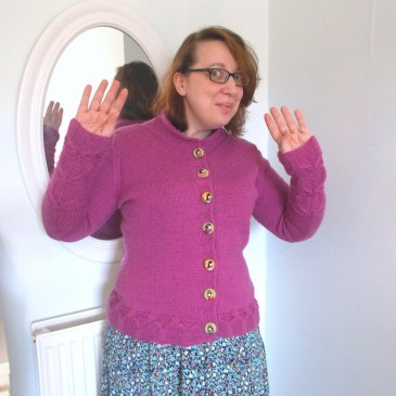 Hashi Cardigan – done!
