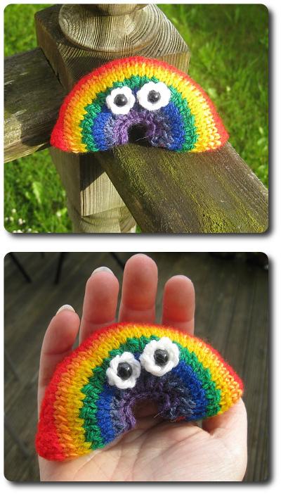 Mr Rainbow collage