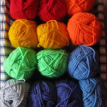 Working with….Acrylic Yarns