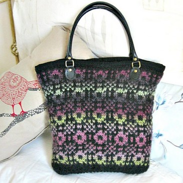 Welsh Tapestry Tote Pattern