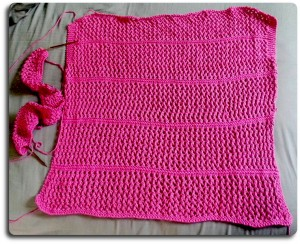 Summer Mesh KAL, Pink Version